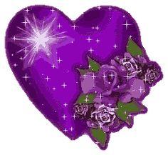 valentine heart animations gif | FlowersRosesHeartPurpleSparkles Photo by alongway99 | Photobucket