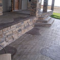 Stamped Concrete Design Ideas, Pictures, Remodel, and Decor - page 14