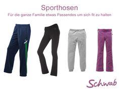 Wie haltet Ihr Euch fit? Wir haben für Euch ein paar coole #Sporthosen zusammengestellt - so bleibt die ganze Familie in Bewegung.