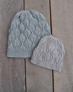 Leaves hat Crochet pattern by Sidsel Sangild Crochet Cable, Crochet Yarn, Crochet Stitches, Crochet Hooks, Crochet Designs, Crochet Patterns, Crochet Ideas, Fingering Yarn, Arm Knitting
