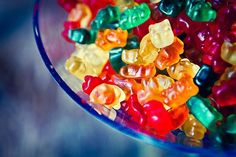 gummy bears are one of my very favorite candies. I can almost smell them!