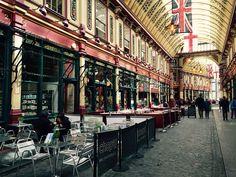 Leadenhall Market - London, UK