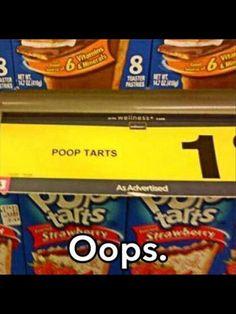 Poop tarts hehe @kaytielouise