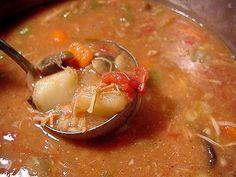 Meat soup