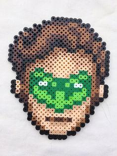 Green Lantern Bead Sprite by PrettyPixelations on Etsy