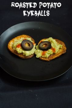 Roasted Potato Eyeballs #SundaySupper from The Girl In The Little Red Kitchen