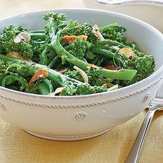 Spicy Broccolini - A Seaside Feast - Coastal Living