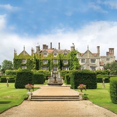 Gallery Eastwell Manor, a Champneys Spa Hotel situated within beautiful landscaped gardens in Ashford, Kent Beautiful Castles, Beautiful Buildings, Beautiful Homes, Luxury Spa Hotels, English Manor Houses, Wedding Venues Uk, Hotel Spa, Future House, Old Mansions
