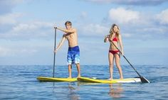 Groupon - $ 49 for a Two-Hour Standup-Paddleboard Lesson and a Two-Hour Rental ($104 Value) in Downtown Coeur d'Alene. Groupon deal price: $49