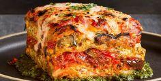 roasted vegetable lasagna. http://inourishgently.com/roasted-vegetable-lasagna/