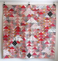 Triangles and Geese and Swans...free pattern