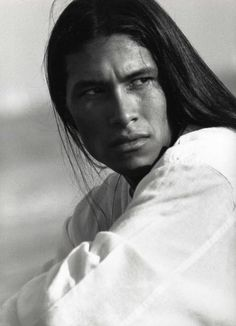 Rick Mora. Yaqui and Apache of Mexican Indian descent.