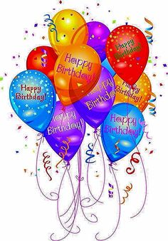 Happy Birthday Balloons happy birthday birthday wishes birthday images birthday balloons quotes about birthday Happy Birthday Celebration, Birthday Wishes Messages, Happy Birthday Wishes Cards, Birthday Blessings, Happy Birthday Pictures, Birthday Images For Facebook, Happy Birthday Quotes For Him, Happy Birthdays, Birthday Celebrations