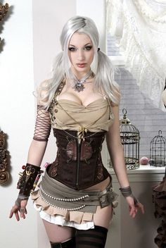 Yes its miss barbie again, but I need that sewing kit armband if I'm a steampunk tailor.
