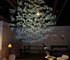 Paper Art installations by Yuko Takada Keller