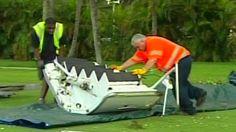 Airplane door falls onto golf course - CNN.com