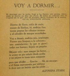 Alfonsina Storni(1892-1938)