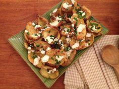 Annabel Langbein Crunchy Potato skins @Annabel Schubert Langbein #afreerangelife