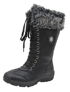 Comfy Moda Womens Winter Snow Boots Chicago 612 9 Black ** You can find more details by visiting the image link. (This is an affiliate link) Dog Boots, Kids Boots, Combat Boots, Mens Snow Boots, Winter Snow Boots, Boots London, Womens Fashion Sneakers, Boots For Sale, Boots
