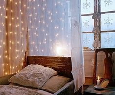 lights and curtain
