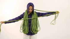 Climbing Magazine - How to make a backpack coil