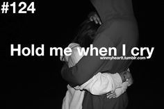 Yes there is nothing more soothing....when he holds me in his arms