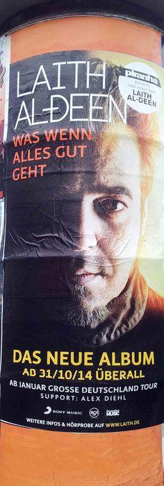 #Litfaßsäule #Poster #Plakat #Laith Al-Deen