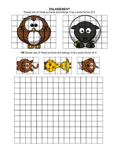 For Starters - Enlargement grids & copyight-free cartoon images.pdf