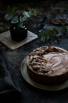 Chocolate Cheesecake, Amazing Photography, Camembert Cheese, Pancakes, Breakfast, Desserts, Food, Recipies, Morning Coffee