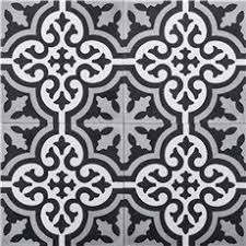 Baldia Black and Grey Handmade Cement and Granite 8 x Floor and Wall Tile (Morocco) (Pack of Take A Shower, Shower Tub, Shower Heads, Plumbing Fixtures, Bathroom Fixtures, Modern Shower, Modern Bathroom, Old Bathrooms, Farmhouse Bathrooms