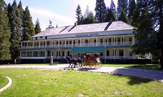 The Wawona Hotel has been welcoming guests to take in Yosemite's natural beauty since the 1870s. Set over 4,000 feet above sea level on the edge of a large meadow by rushing streams, the Victorian-era lodge is four miles from the south entrance of the park and Mariposa Grove. http://www.majesticmountainloop.com/home