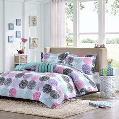 Mi Zone Audrina 3-piece Comforter Set - Overstock™ Shopping - The Best Prices on Mi-Zone Kids' Comforter Sets