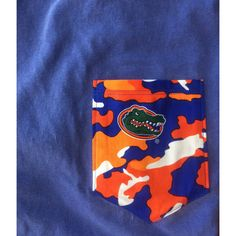 Gator Camo Pocket Tee by CaddywampusTees on Etsy