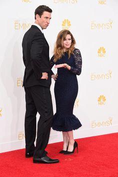 Pablo Schreiber and Natasha Lyonne at the Emmys
