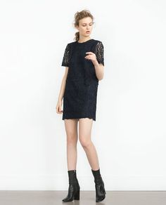 LACE DRESS-View All-DRESSES-WOMAN   ZARA United States