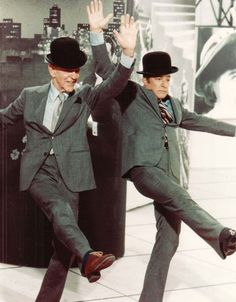 """With Gene Kelly in """"That's Entertainment"""" (1974)"""