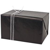 Presentpapper RIBB svart 5m