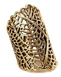Openwork Coral Ring from Lucky Brand