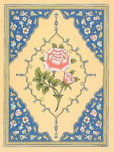 Fabric Painting, Artist Painting, Painting On Wood, Arabesque, Islamic Art Pattern, Turkish Art, Arabic Art, Textile Patterns, Art And Architecture