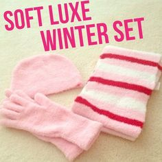NWOT Soft Luxe Winter Set - Hat, gloves, and scarf New without tags. Ulta soft luxe winter set. Comes with hat, gloves, and scarf. Accessories Scarves & Wraps