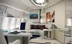 A Look Inside a Custom Boeing 787-9 Dreamliner Private Jet