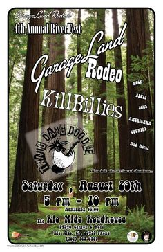 GarageLandRodeo plays rock, country, American roots, blues and a whole bunch more on Saturday, August 29 at the RNR. $5.