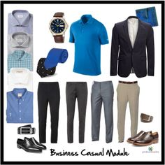 "Made for Chris: ""business casual module: men"" by professionality on Polyvore"