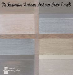 Restoration Hardware Style with Chalk Paint®