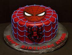 Baby Spiderman, Spiderman Birthday Cake, Spiderman Theme, Avengers Birthday, Birthday Cakes For Men, Superhero Cake, Superhero Birthday Party, Boy Birthday Parties, Cake Birthday