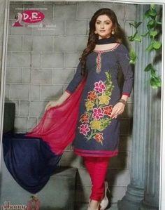 Indian Pakistani Ethnic Anarkali Salwar Kameez Designer Suit Bollywood Dress #Unbranded #SalwarKameez