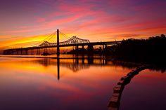 Sunrise on Oakland Bay Bridge by Joseph Trinh on 500px