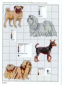 Needle-Works butterfly: dogs and puppies cross stitch patterns progetti punto croce, ricamo Free Cross Stitch Charts, Counted Cross Stitch Patterns, Cross Stitch Designs, Cross Stitch Embroidery, Embroidery Patterns, Pug Cross, Motifs Animal, Dog Crafts, Cross Stitch Animals