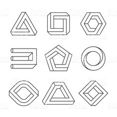 optische Täuschung Impossible shapes, optical illusion objects Royalty Free Stock Photo How to Choos Optical Illusions For Kids, Optical Illusions Drawings, Illusions Mind, Optical Illusion Tattoo, Illusion Drawings, Art Optical, How To Draw Illusions, Illusion Kunst, Illusion Art