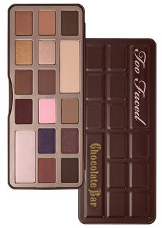 too faced palette choccolate